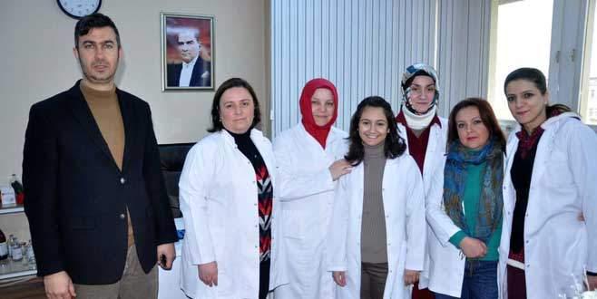 Sağlık ekibi 7 gün hizmette