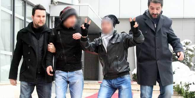 Bursa'da 'otomat fareleri' güvenlik kameralarına yakalandı