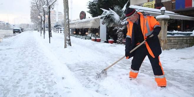 Nilüfer'in kar savaşçıları
