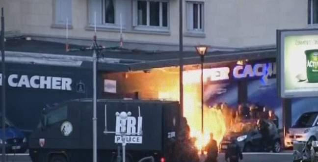 Paris'teki ikinci rehine krizinde dört ölü