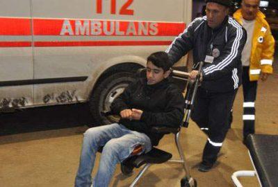 Bursa'da başıboş köpeklerin saldırdığı çocuk yaralandı