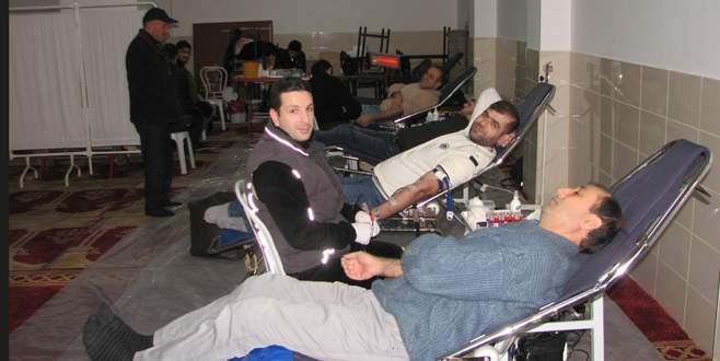 Kestel'de kan bağışı