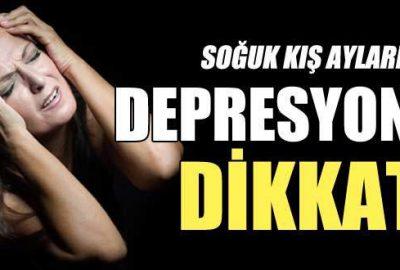 Soğuk kış aylarında depresyona dikkat!