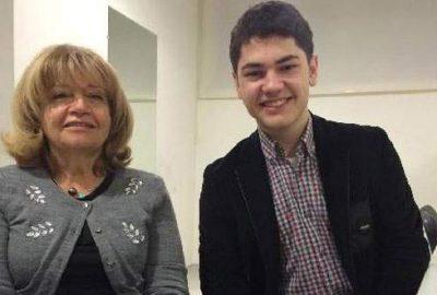 Tambi, Bursa'da konser veren İdil Biret'le tanıştı
