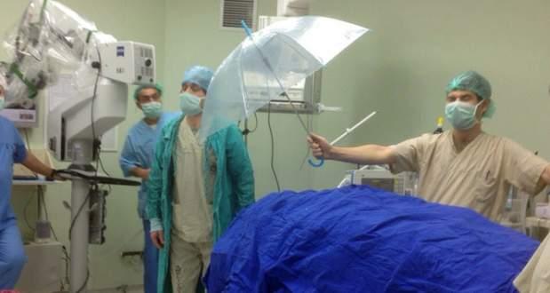Şemsiyeli ameliyata soruşturma kararı
