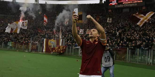 Totti 'Selfie'yi planlı yapmış!