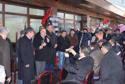Mudanya'da Hal esnafı kepenk kapattı
