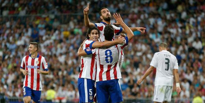 Atletico'da hedef Şampiyonlar Ligi!