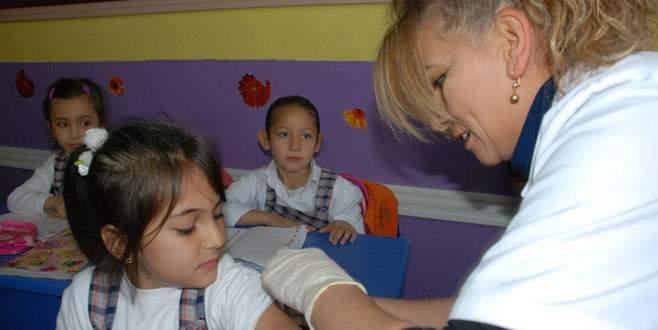 11 bin öğrenciye aşı yapıldı
