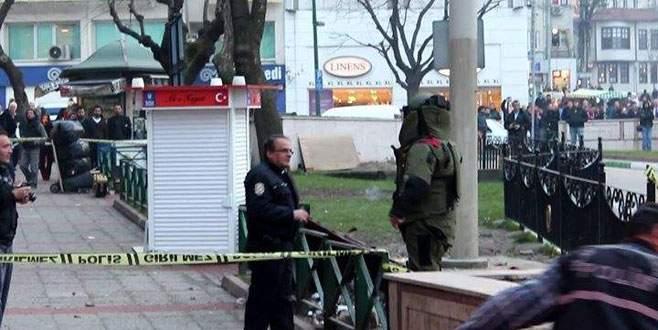 Bursa'nın merkezinde bomba paniği