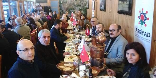 ARSİYAD üyeleri kahvaltıda buluştu