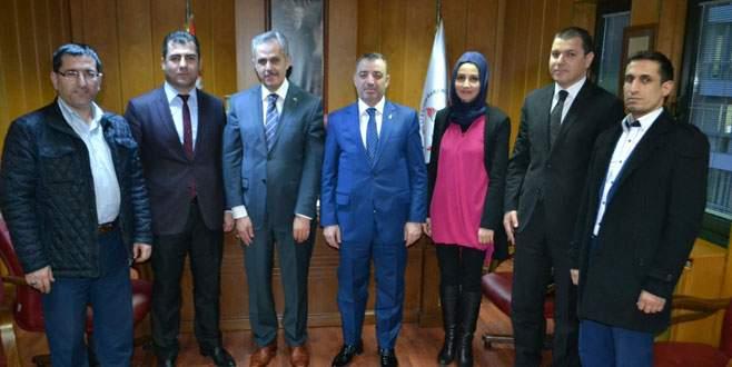 AK Parti Yıldırım'dan Sarıkaya'ya ziyaret