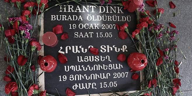 Hrant Dink anıldı