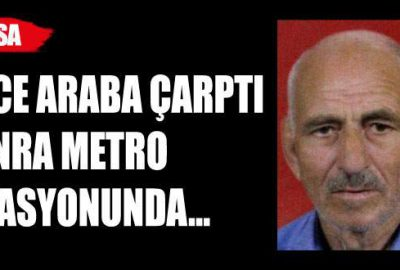 Bursa'da yaşlı adamın korkunç sonu!
