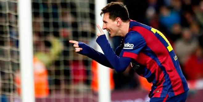 Messi yine tarih yazdı