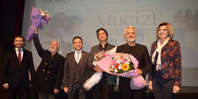 'Mucize' filminin galası Bursa'da yapıldı