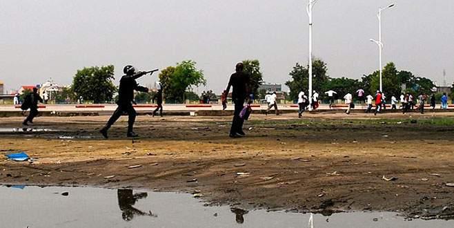 Polis müdahalesi 13 kişiyi öldürdü