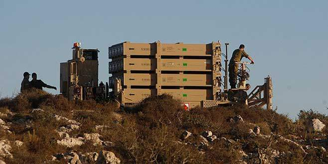 "İsrail ""Demir Kubbe""yi Lübnan sınırına kaydırdı"
