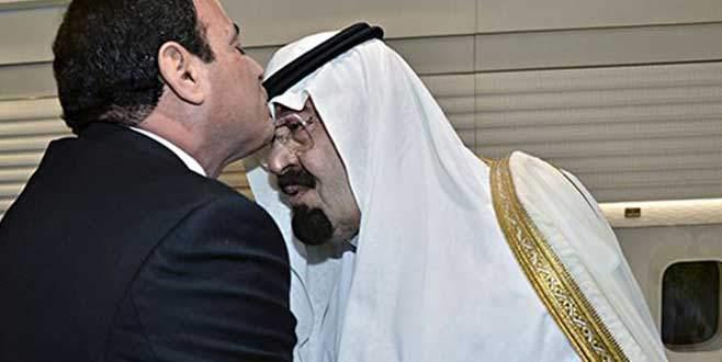 El Sisi, Suudi Kralını ziyaret etti