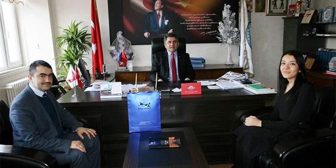 Marmara Belediyeler Birliği'nden Hasan Taş'a ziyaret
