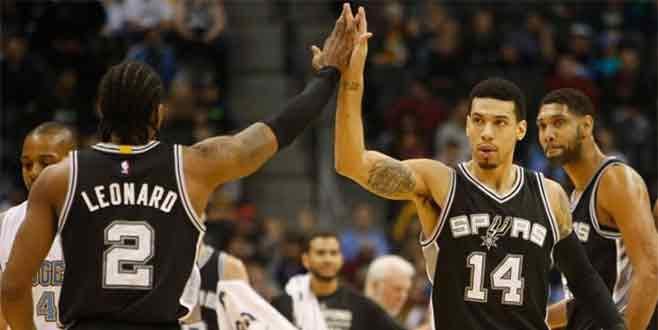 San Antonio Spurs'ten üst üste 4. galibiyet