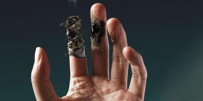 Sigara dumanında 'üçüncü el' tehlikesi