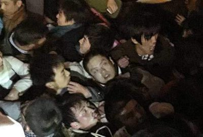 Şanghay'da ailelere izdiham tazminatı