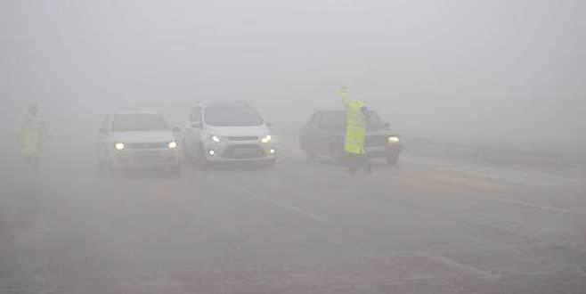 İnegöl'de sis kazalara sebep oldu: 6 yaralı