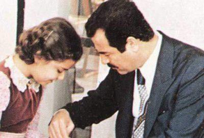 Saddam'ın tasarımcı kızı