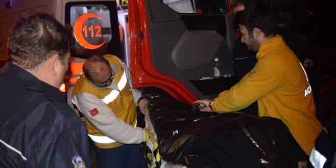 Bursa'da direksiyon başında gelen ölüm!