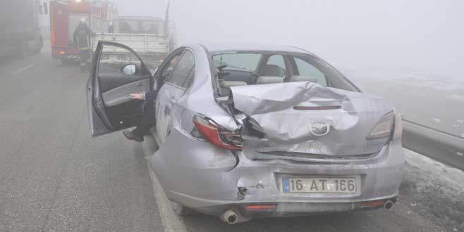 Yine sis, yine kaza: 2 yaralı
