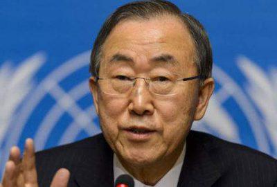 Ban Ki Moon'a 'istifa et' çağrısı
