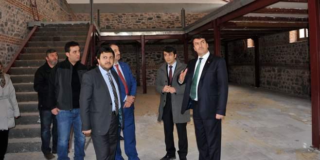 Bursa yepyeni bir kültür merkezine kavuşuyor