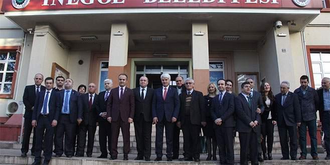Acara başbakanı Khabadze İnegöl'de