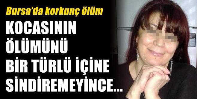 Bursa'da bir kadın kocasının mezarı başında intihar etti