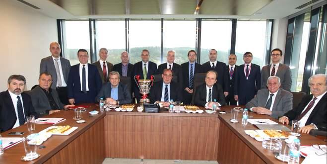 TFF yönetimi toplandı