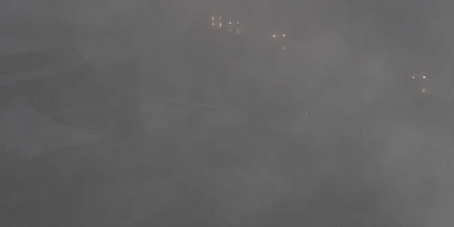 Bursa, güne sisle uyandı