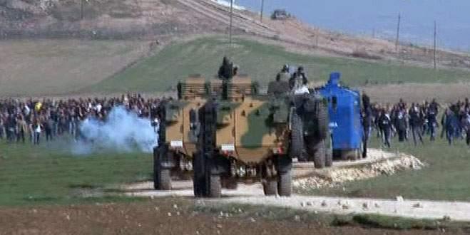 Kobani sınırında gerginlik!