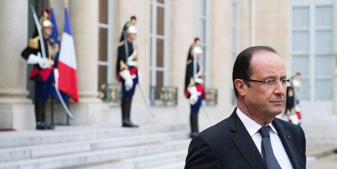 Hollande'dan İsrail'e tepki