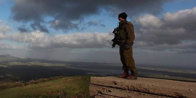 Golan'da Esed güçleri vuruldu