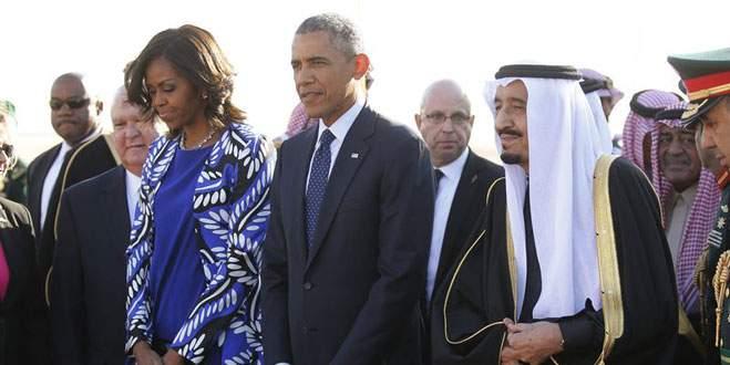 Kral Obama'yı bırakıp gitti