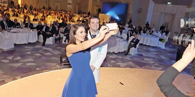 En beyaz selfie