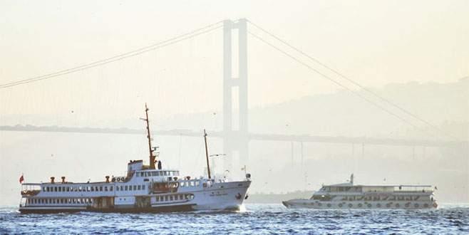 İstanbul'da tüm vapur seferleri iptal!