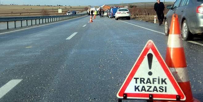Trafik kazaları 2014'te günde 10 can aldı