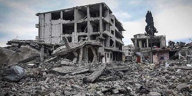 Kobani'nin bir bölümü harabe bırakılacak