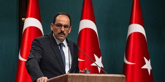 Cumhurbaşkanlığı Sözcüsü Kalın'dan Sarkisyan'a cevap
