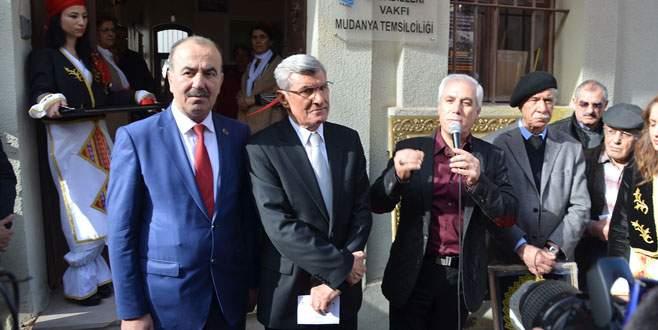 Lozan Mübadilleri Vakfı Mudanya'da temsilcilik açtı