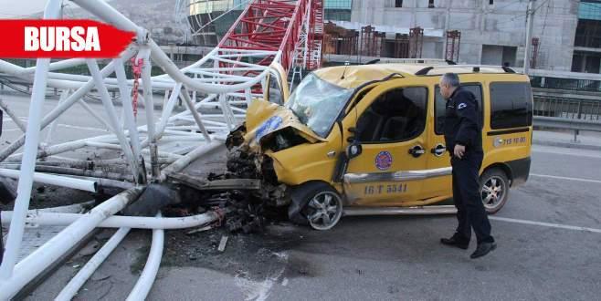 Vincin altında kalarak ölen taksici toprağa verildi