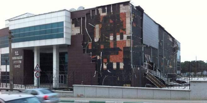 Lodos Afet Eğitim Merkezi'ni de vurdu!