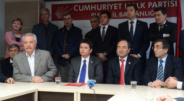 CHP Bursa'da ilk aday adayı Aydın